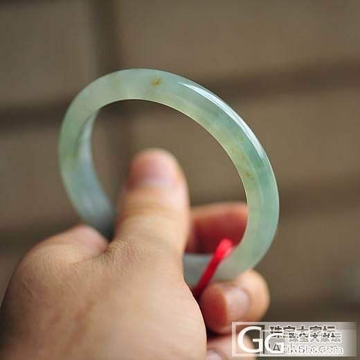 【医神】6.3湖水绿飘绿丝圆镯4617【56.5*10.1*7.3mm】(已结缘)_医神
