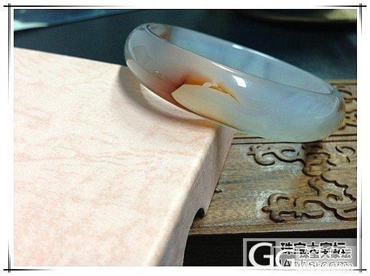120元包快大亏转冰透美丽的玛瑙镯!..._传统玉石