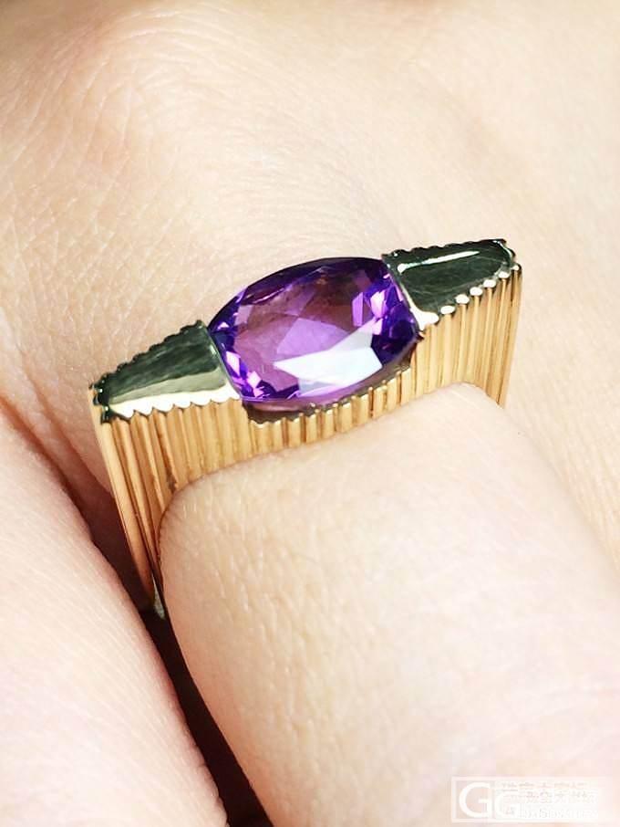 MGEMS特别设计款 紫水晶18K黄..._博物馆