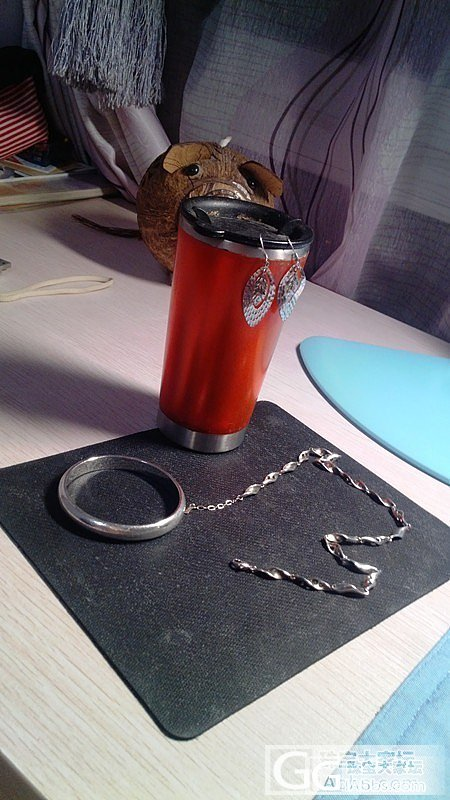 银饰也漂亮--手镯、耳环、项链_手镯项链耳坠银