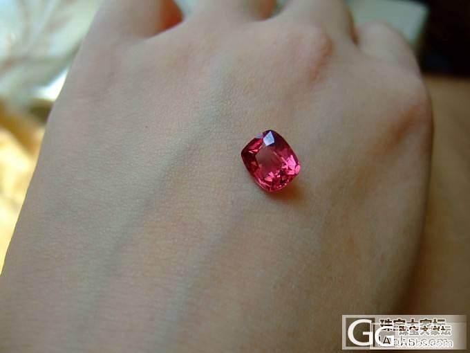 几颗小尖晶(乱入了一颗石榴)_尖晶石刻面宝石