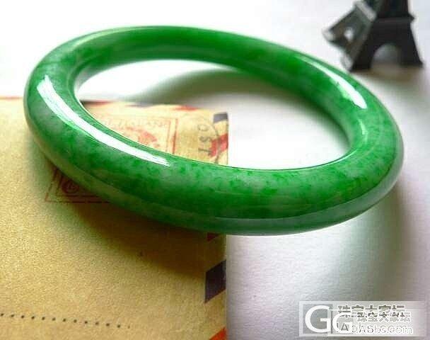 辣绿圆条求估价_翡翠