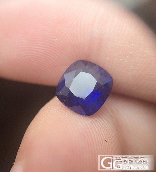 斯里兰卡蓝宝石2.68CT,皇家蓝色7777一颗带国检_宝石