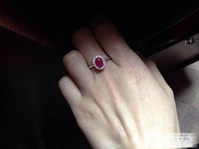 欢迎来评论我的小小红宝石和小奢华红宝石戒指_珠宝