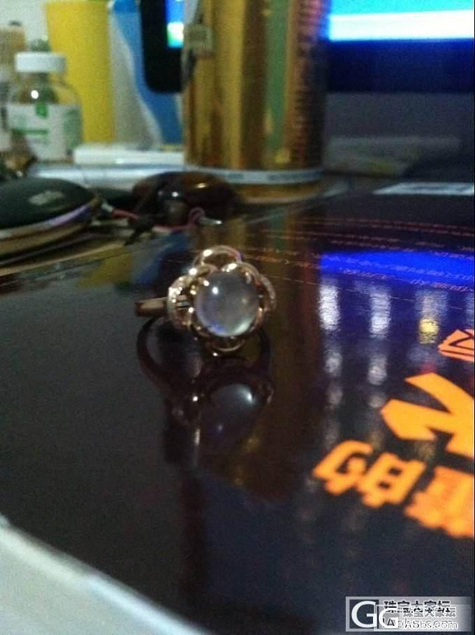 昨天那个戒指其它照片补充下 看看到底..._和田玉