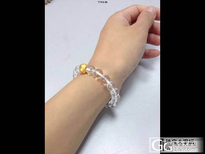 白水晶+转运珠_珠串水晶金福利社