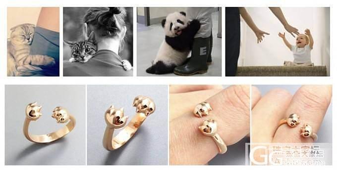 """""""爱的抱抱""""戒指,258元包邮_银"""