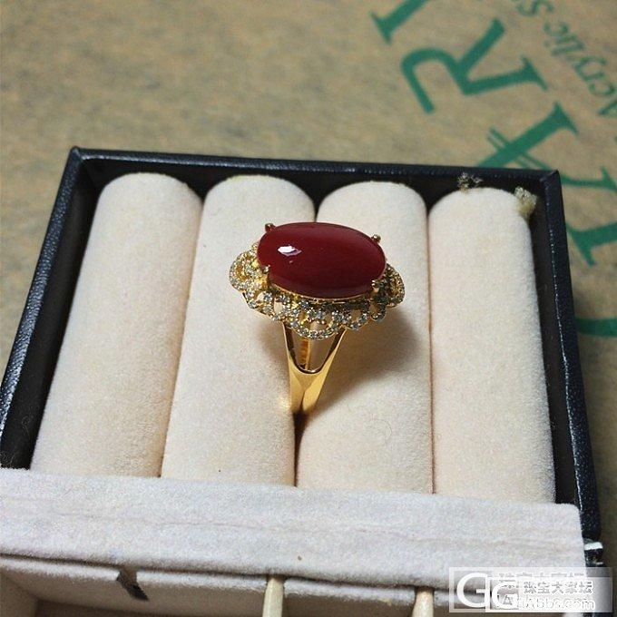 天然ak成品戒指18k黄金钻石_有机宝石