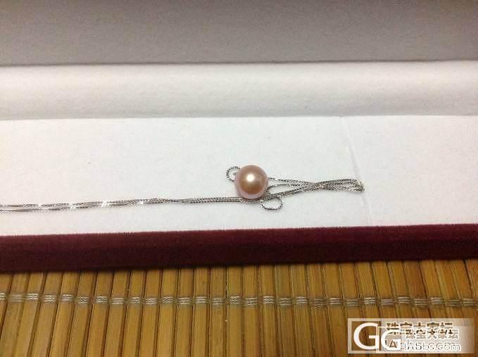 晒晒新败的珍珠项链&锁骨链_珍珠