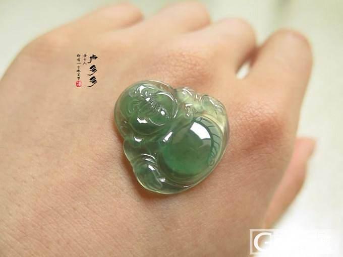 【6月3日,新货】————美绿水,来咯————【绿水佛,一手6件】_翡翠
