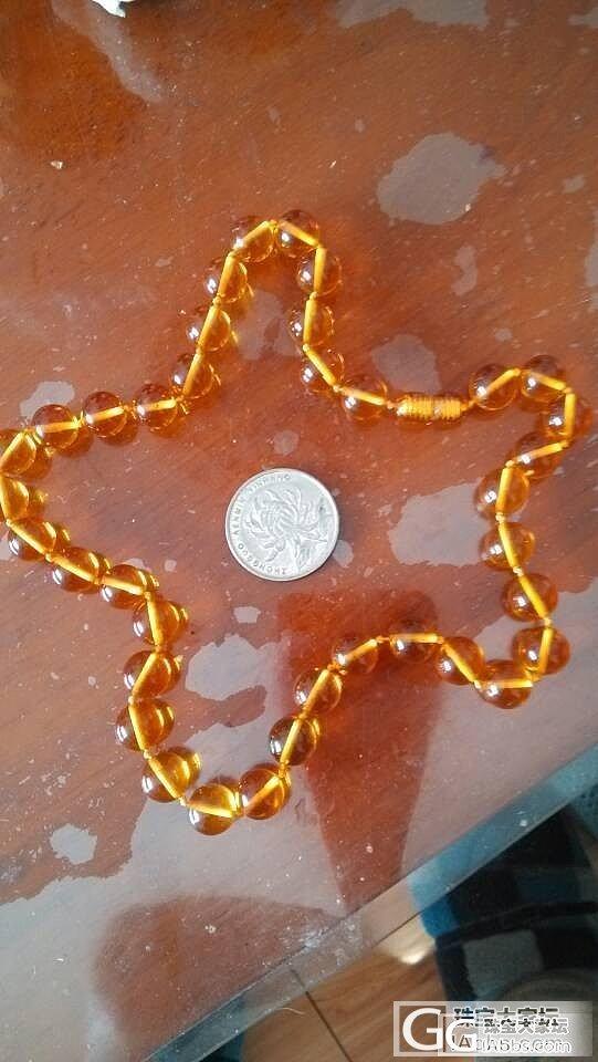 接着买进,就是不知道合适不合适,大家帮忙,一公分的海珀珠子._有机宝石
