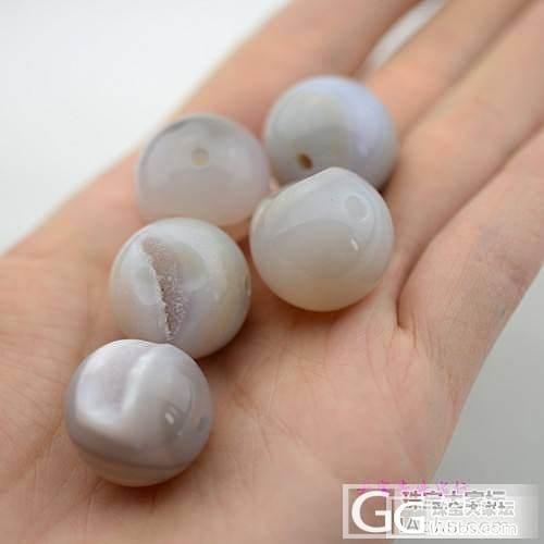纯天然聚宝盆圆珠一手,5粒珠子总价120元_宝石