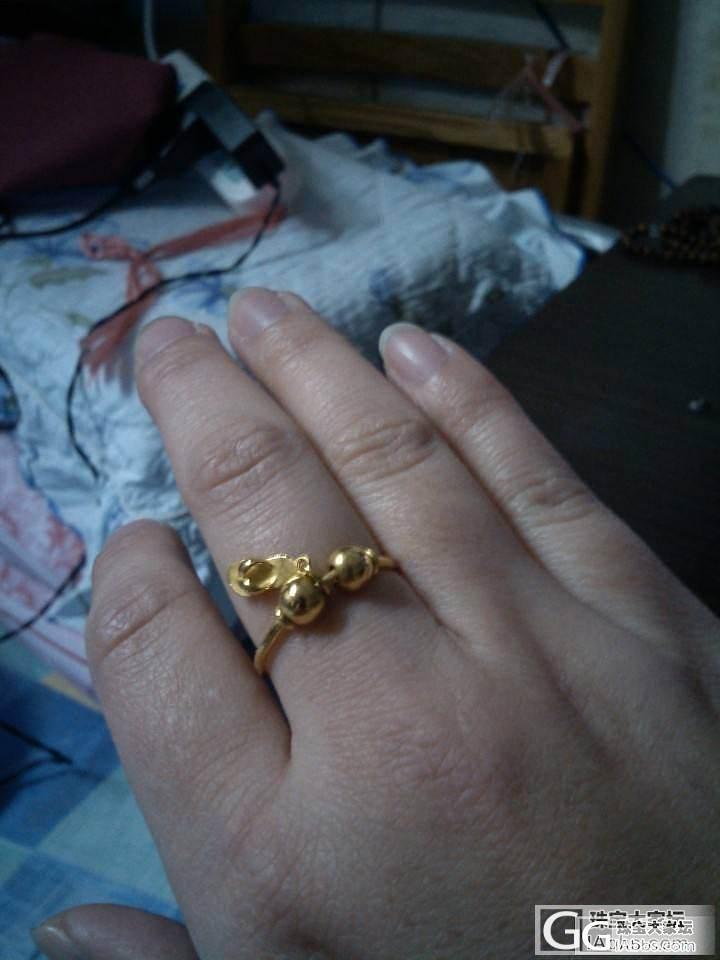 刚打好戒指,金价就跌了_戒指金