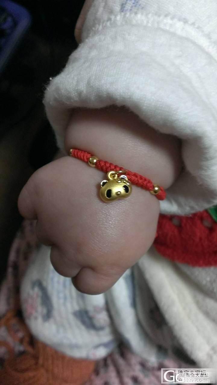 福利金的小金珠~~其實偶是曬熊貓BB的_编绳金