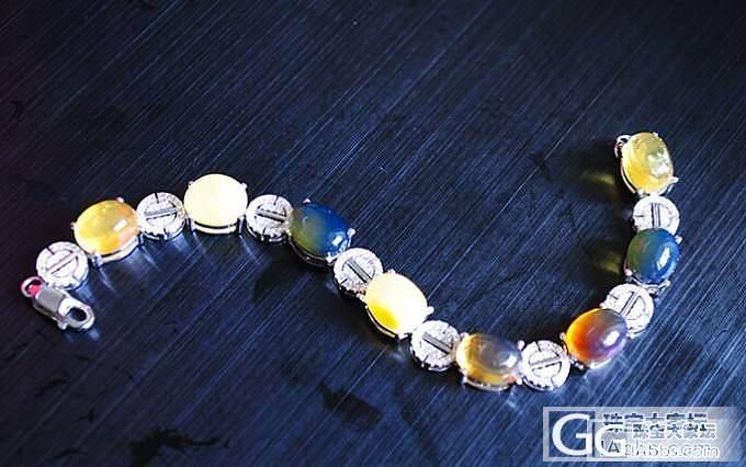 便宜出蜜蜡吊坠和一条多宝手链_有机宝石