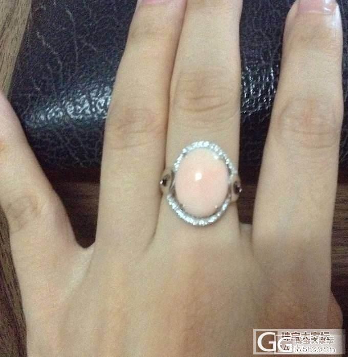 misu珊瑚套装跟小猫眼戒指还图_鑫艺首饰镶嵌