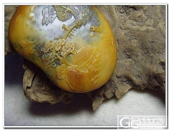黄沁山子_传统玉石