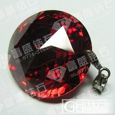 锆石厂家各种彩色锆石紫红梨形锆石圆形锆石裸钻_珠宝