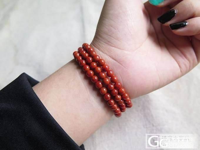 【火舞赤玉】———两串———【108颗柿子红:手串】_玛瑙