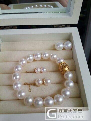 高大上的珍珠手链_珍珠