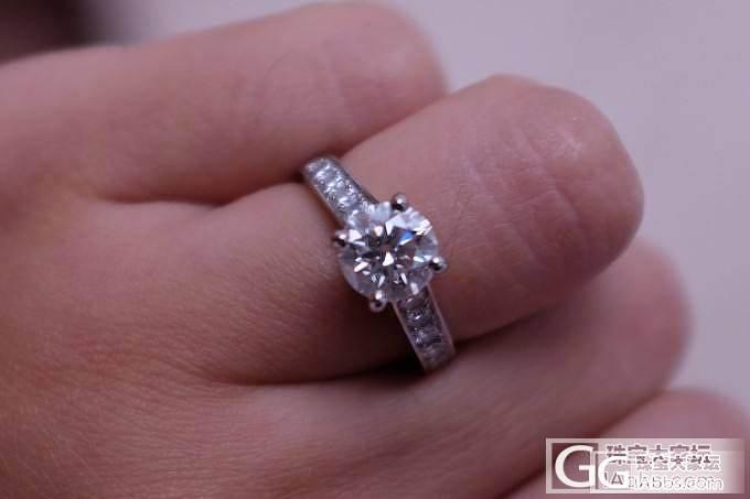 我的卡地亚婚戒 重新上图了 麻烦批判亏的别进了_钻石