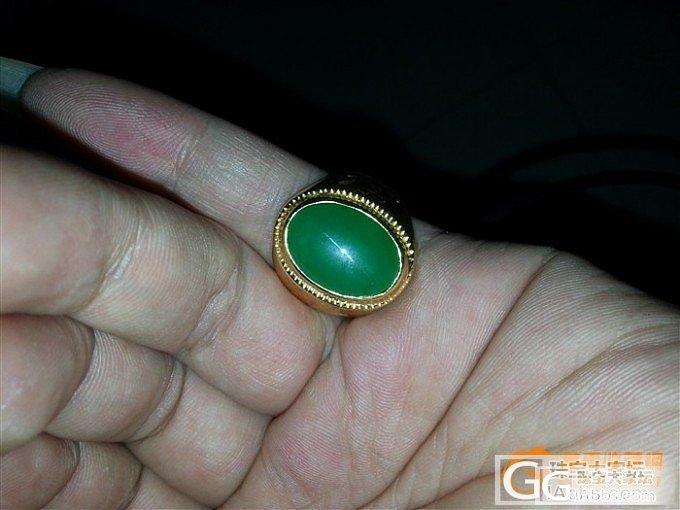 在家里找到个翡翠戒指,求围观_翡翠