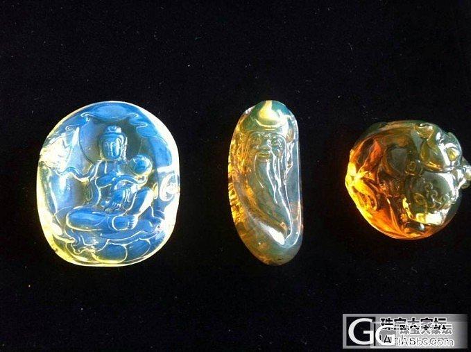 多米尼加蓝珀和缅甸琥珀和墨西哥琥珀对..._有机宝石