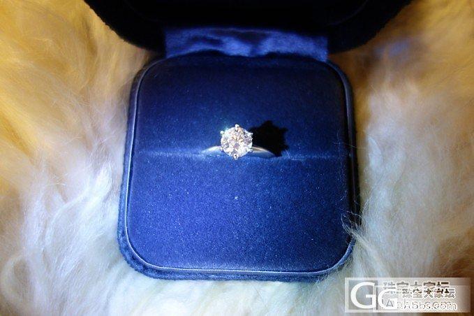 订婚啦。Tiffany小闪闪~~幸福ing_钻石