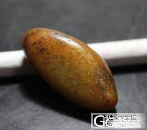 和田玉黄沁籽料_传统玉石