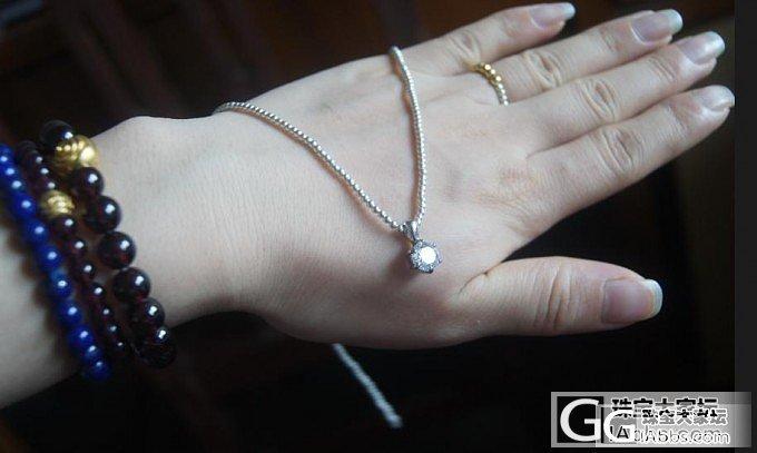 2MM的珠子串了个项链~什么吊坠都无压力了!!_吊坠串珠银