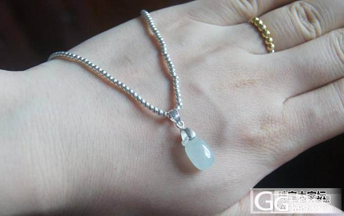 2MM的珠子串了个项链~什么吊坠都无..._吊坠串珠银