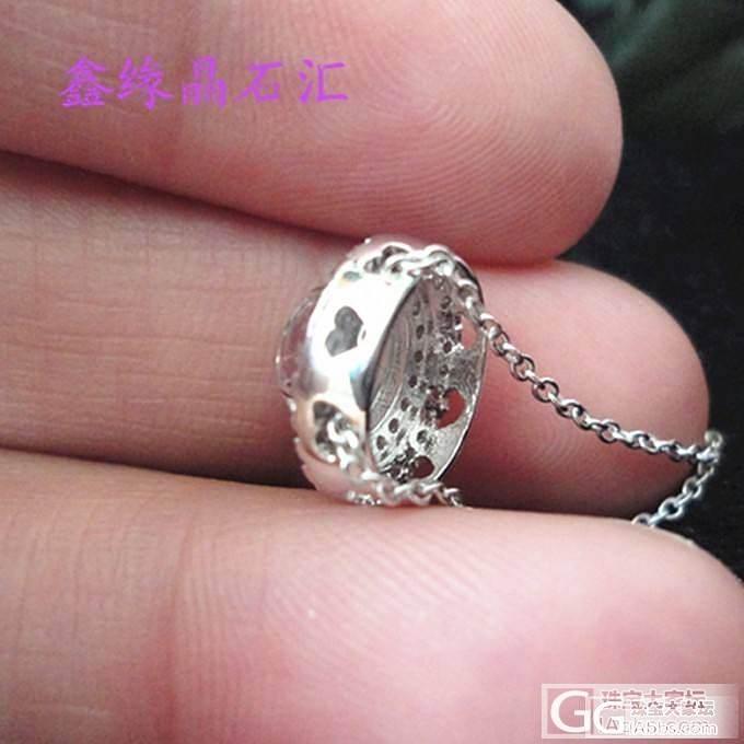 极品蓝月光石锁骨链,简约时尚 ,套装..._宝石