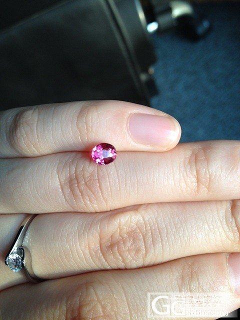 入手的第一颗尖晶,还图_尖晶石刻面宝石