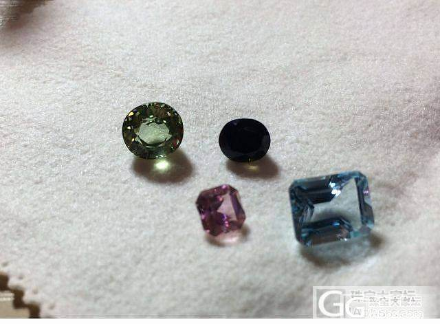 在收集彩宝的过程中,我买了不少垃圾。_宝石刻面宝石