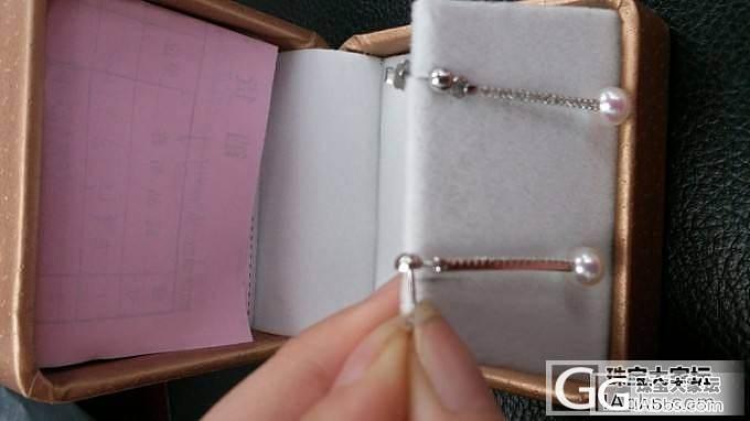 珍珠耳环转卖 akoya珠子5.5-6_有机宝石
