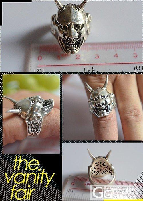 牛头八面戒指, 好看不_戒指银