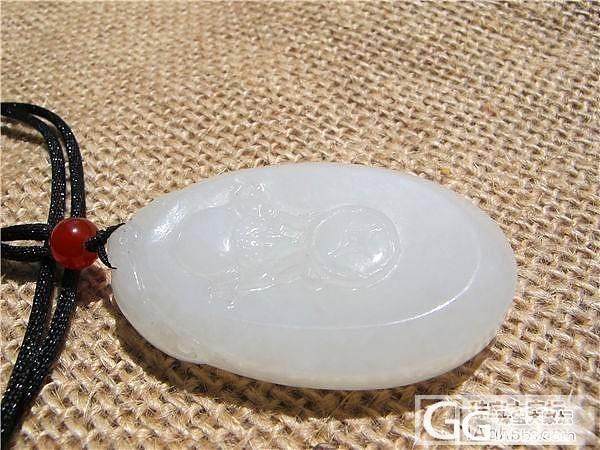 【碧水有玉】和田玉 俄料 白玉 雕件 780元_传统玉石