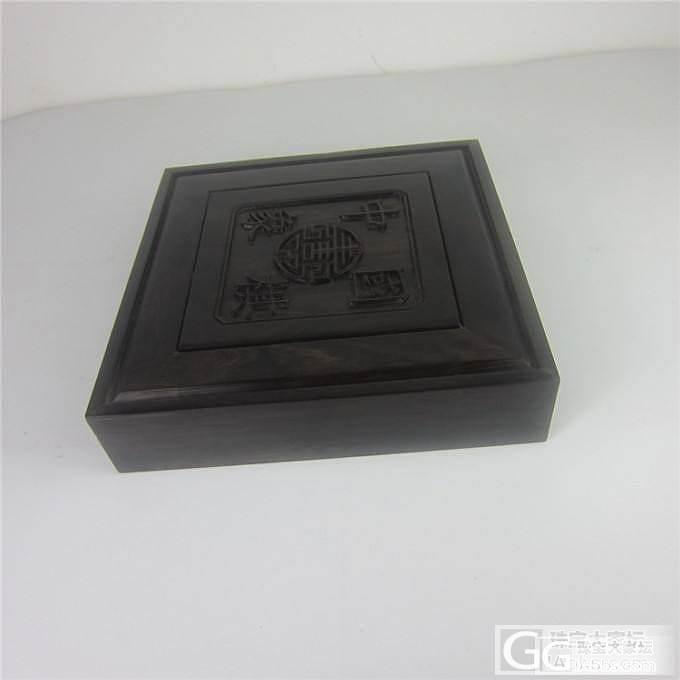 乌木象棋 棋子直径5.5厘米 棋盒榫..._珠宝