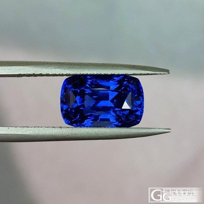【LEAS俪思彩宝】霸气4.69ct皇家蓝宝石出售~_宝石