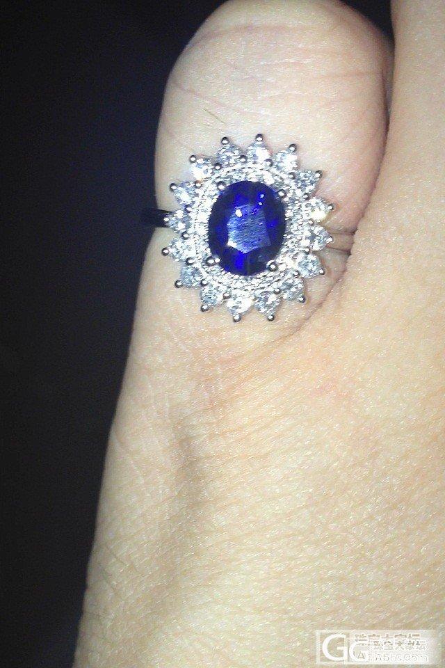 买这个蓝宝石戒指,求个人点评..拍砖..._戒指蓝宝石