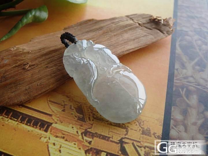❤雕工好种水佳的竹节,寿桃挂件❤_翡翠