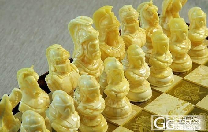 福利赏图贴!屌炸天的国际象棋!有闪必..._琥珀