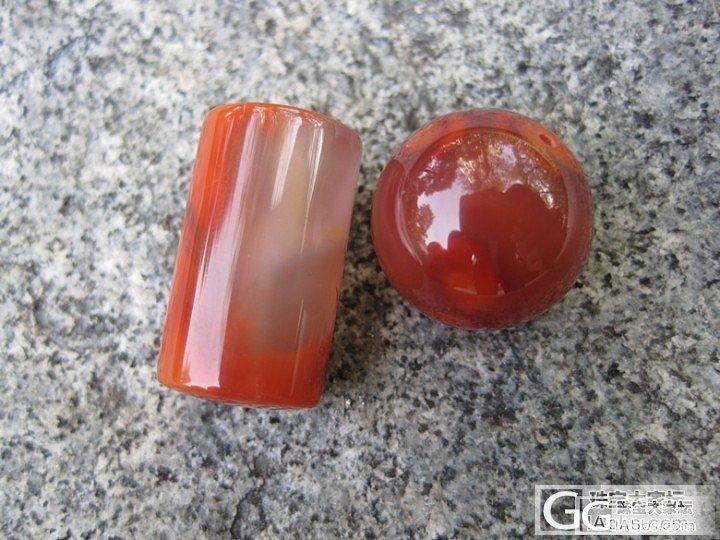 精品南红散珠及大尺寸(13mm)南红..._传统玉石