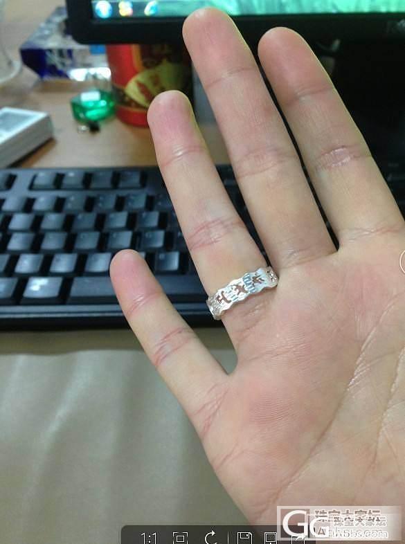 秀下梵文_戒指银