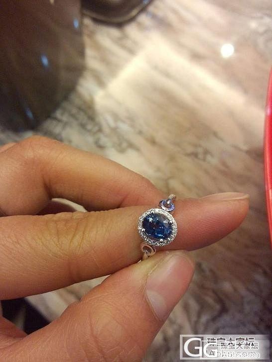 一克拉天然无烧斯里兰卡蓝宝石,大神们..._蓝宝石