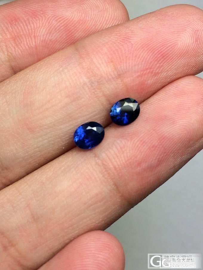 第二团:泰国产顶级蓝宝石,皇家蓝九组..._博物馆
