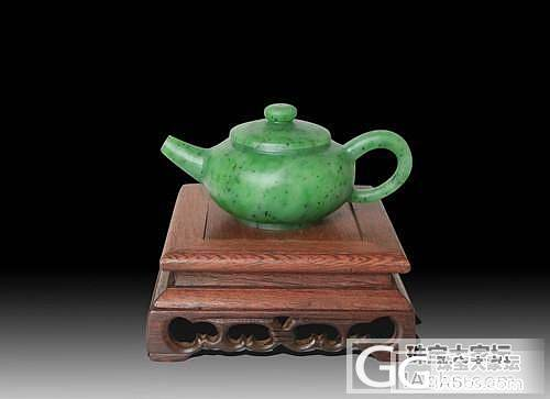 《碧玉张》设计独特的玉茶壶_珠宝