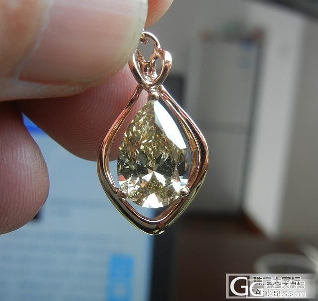 3.1卡拉钻石吊坠来啦!_钻石