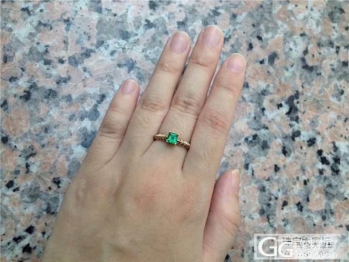 突然发现我对祖母绿型切割的戒面毫无抵抗力,已经收了四个戒指了。_刻面宝石