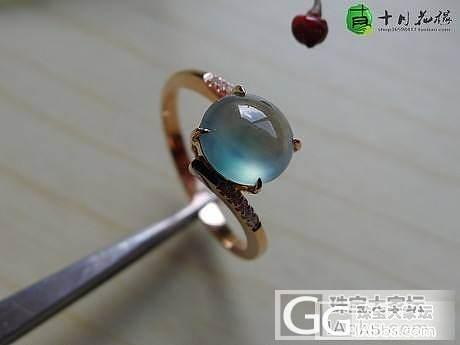 【十月】5.16新货56件之蓝花戒指...